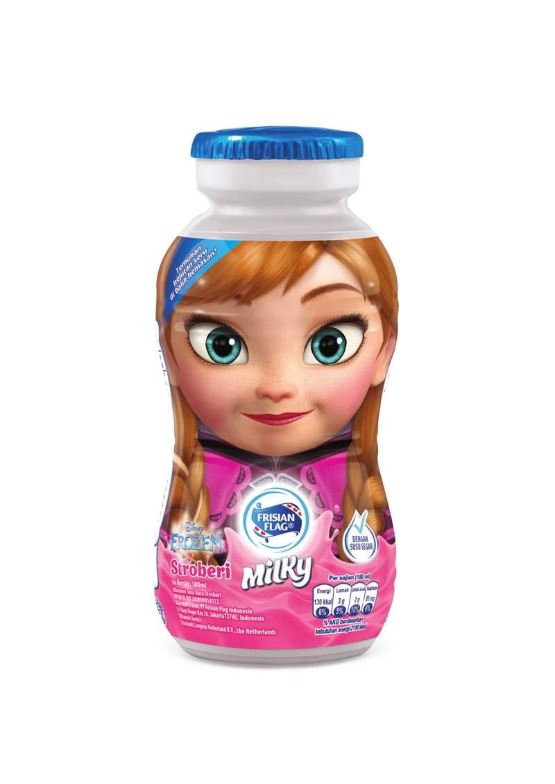 Milky Botol Strawberry