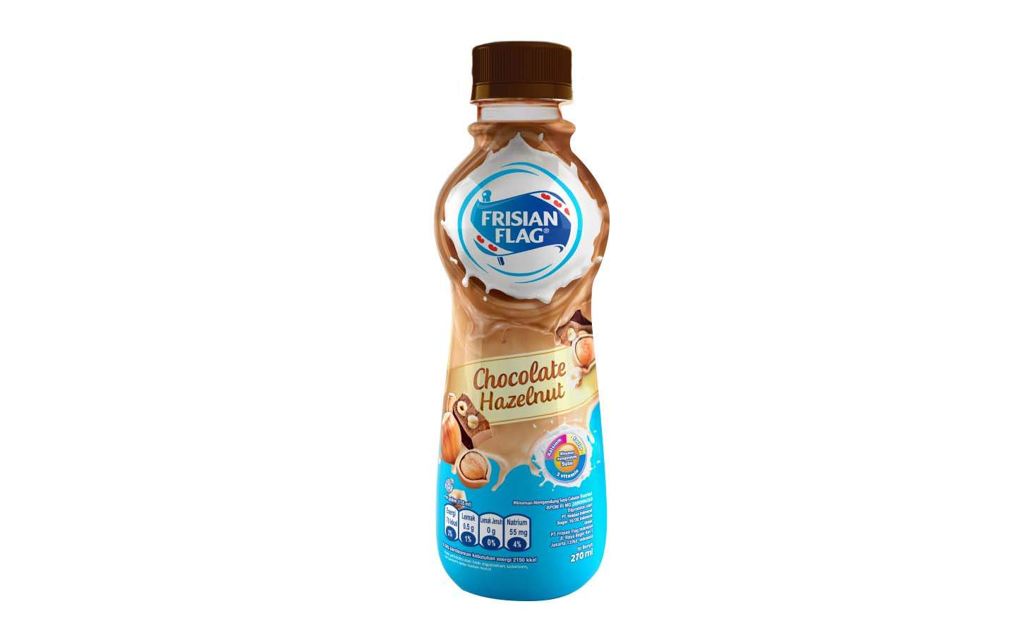 Frisian Flag Chocolate Hazelnut 270ml