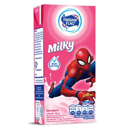 Milky Kotak Strawberry