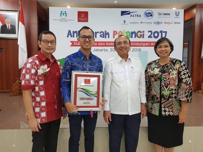 Frisian Flag Indonesia Raih Anugerah PELANGI