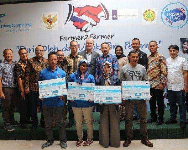 Frisian Flag Indonesia Kirim Pemenang Farmer2Farmer 2019 ke Belanda