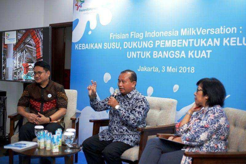 Frisian Flag Indonesia Berbagi Informasi Kebaikan Susu Melalui MilkVersation