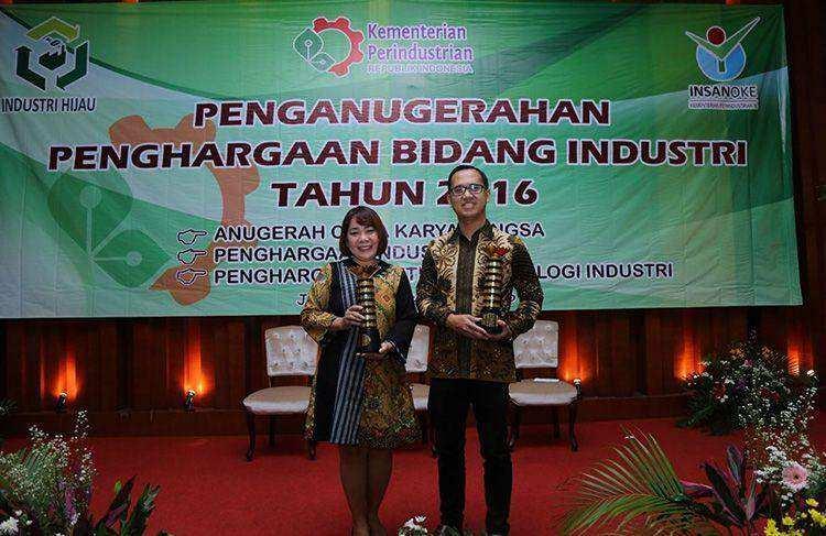 Frisian Flag Indonesia Kembali Raih Penghargaan Industri Hijau 2016