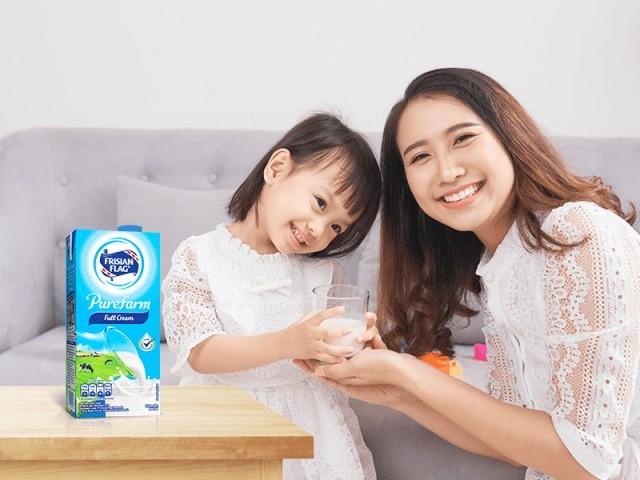 Tips Agar Anak Minum Susu