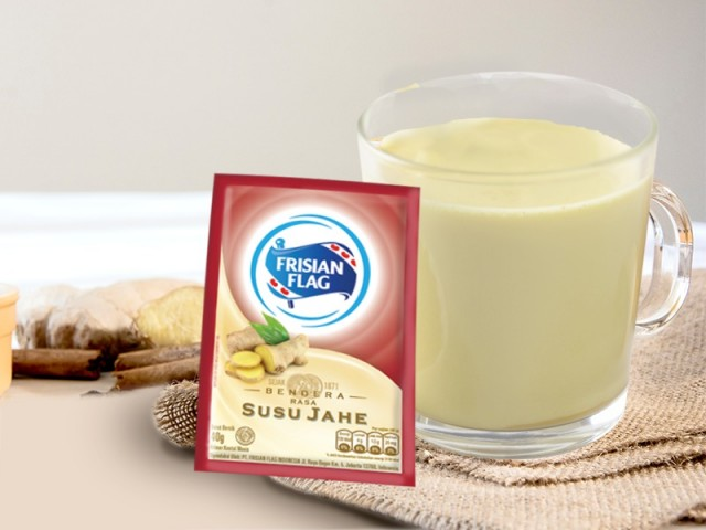 Olahan Minuman Enak Dengan Susu Frisian Flag Jahe