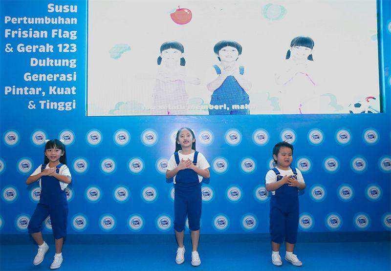 Frisian Flag Indonesia Ajak Anak-anak Indonesia untuk Aktif Bergerak Lewat Kampanye 'Gerak 123'
