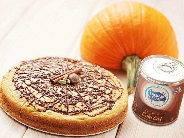 Pai Labu Cokelat Lezat untuk Sore yang Seru