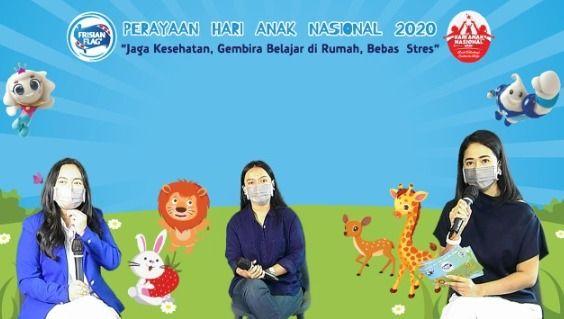 Peringati Hari Anak Nasional 2020, Frisian Flag Indonesia  Ajak Orang Tua Jaga Kesehatan dan Kebahagiaan Anak di rumah