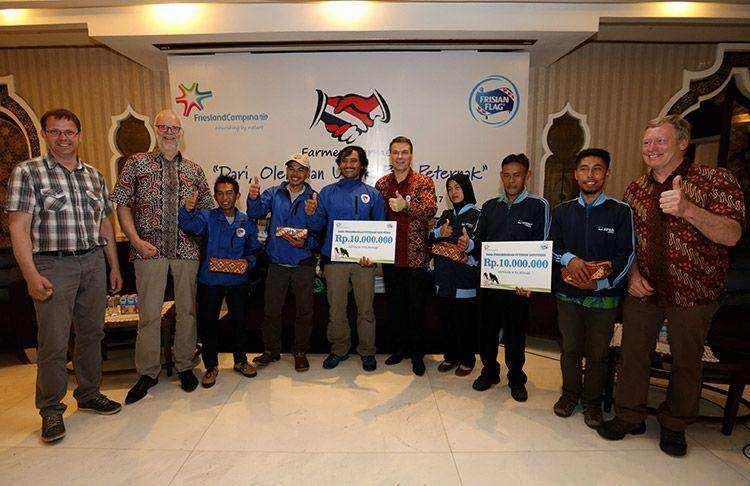 Program Farmer2Farmer Tingkatkan Pendapatan Peternak Sapi Perah Indonesia hingga 20%