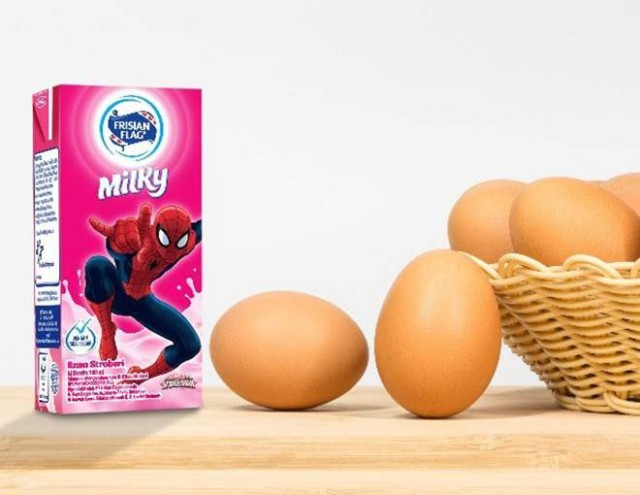 Ini manfaat susu protein yang sama dengan telur