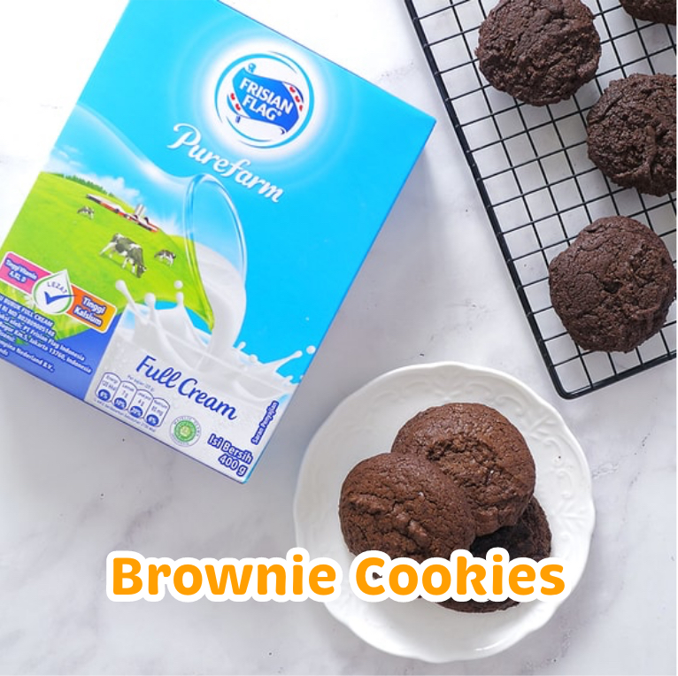 Resep Kue Brownie Cookies