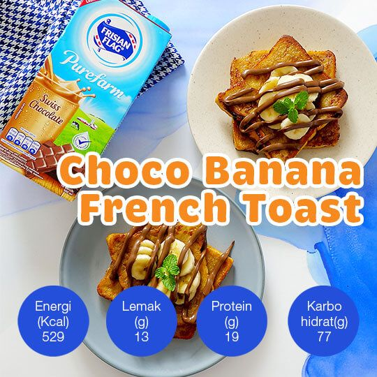 Choco Banana French Toast: 2 Porsi