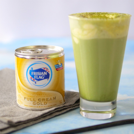 Resep Matcha Cheese Tea