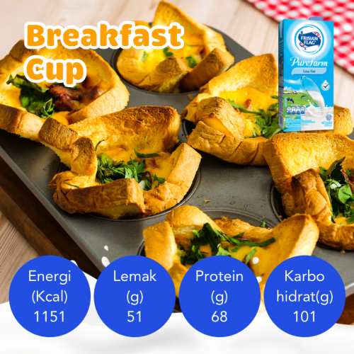 Resep Breakfast Cup