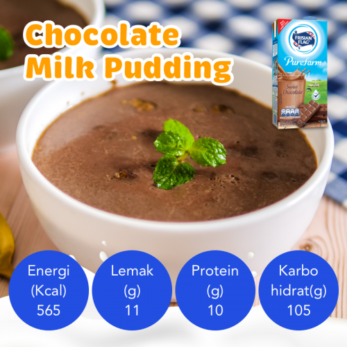 Resep Chocolate Milk Pudding