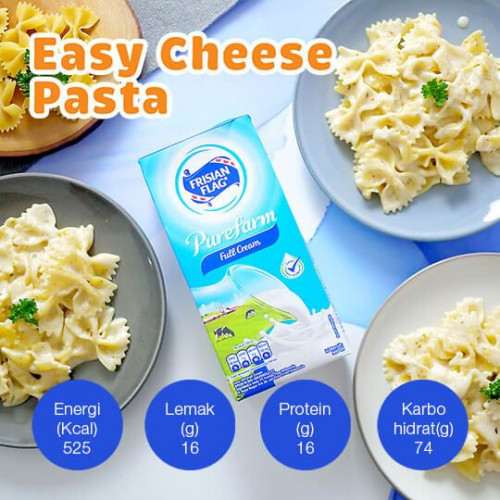 Resep Easy Cheese Pasta